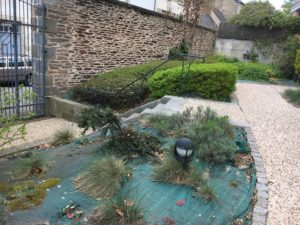 Aménagement du jardin d'une copropriété gérée par LMH
